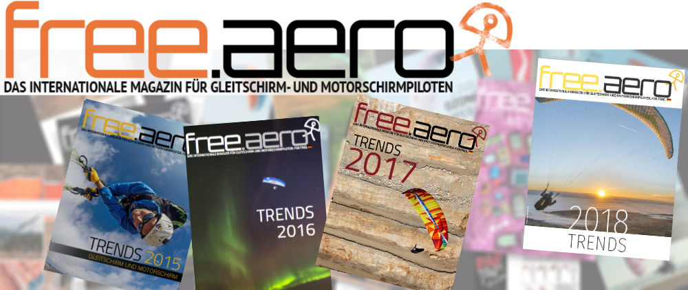 free aero paragliding paramotoring magazine