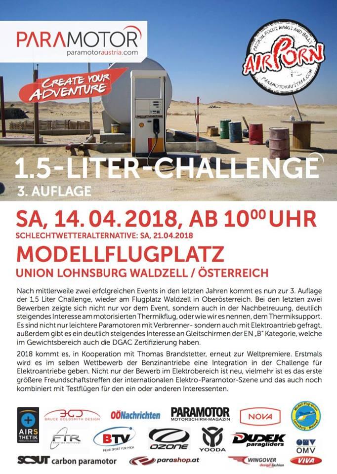 1,5 L Challenge