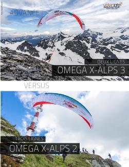 Advance Omega X-Alps 2 vs X-Alps 3
