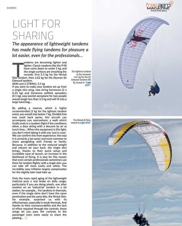 Sharing paragliding and paramotoring 4